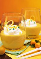 Fresh Light and Creamy Lemon Mousse by theresahelmer