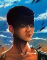 Furiosa quick sketch by SurugaMonkey
