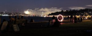 Seattle firework scape by kasieisdell