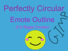 Big Emote Outline Tutorial (GIMP) by Maclafel7