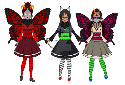 Witches by Homestuck666Trash