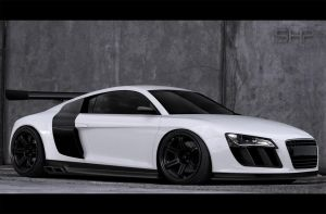 Audi R8 by shappass