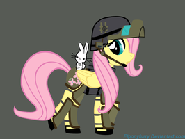 Fluttersoldier by ElPonyFurry
