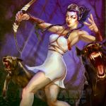 Age of Champions Artemis by anotherdamian