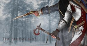 The Kenway's weapon of choice 1 by shatinn