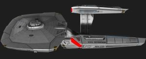 NCC-1701 Connie Variant 5 by JefferyWright