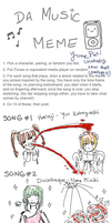 Music meme by Sugarbouquet