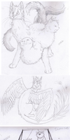 Germany 2012 sketchdump by Finchwing