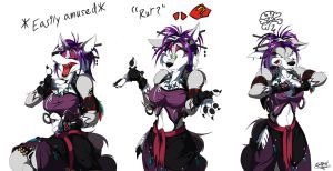 Expressions: Rika by Retehi