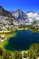 Bullfrog Lake, Sierra Nevada by sellsworth