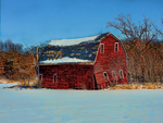 Winter Barn by simpspin