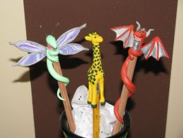 pencil toppers by caseva