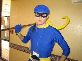 Sly Cooper Cosplay - Con-Nichiwa 2013 by hgssSilverFan