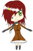 Autumn Chibi Girl Adopt -OPEN- by Furuha