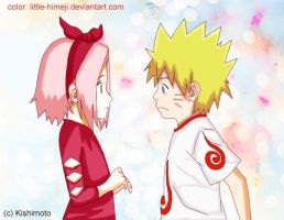 NaruSaku ~ child love by little-himeji