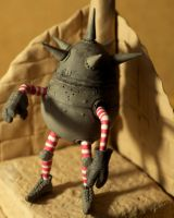 cannon ball goblin sculpt by JamesPendleton