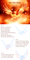 How to draw a phoenix step by step by Static-ghost