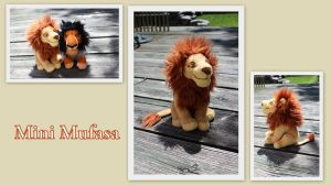Mini Mufasa by Laurel-Lion