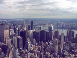 The View from the Empire State Building by Endless-Happiness