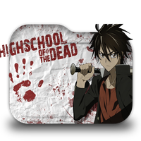 High School of the Dead Folder Icon by Minacsky-saya
