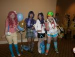 Kumoricon 2012 Ponies! by sabrynaM