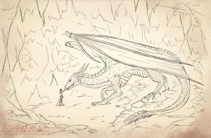 Sketch - Ignatfril and Nero First Meeting by Jenova87