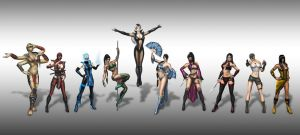 MORTAL KOMBAT 9 LADIES V2 by SrATiToO