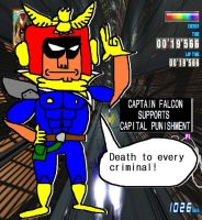''Captain Falcon Has Something He Want To Tell Eve by tentabrobpy
