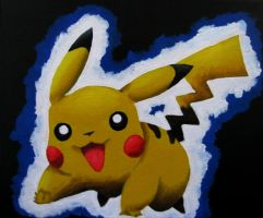 Pikachu - For Riley by Arinen