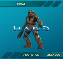 Halo Dock Icon by Dohc-WP