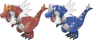 Tyrantrum by KrocF4
