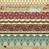 Lace Borders No. 3 by starsunflowerstudio