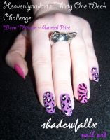 Week Thirteen - Animal Print by shadowfallx