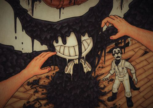 Sinister Smile (BATIM) by Cake-a-Tron