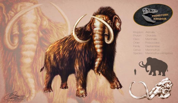 Woolly Mammoth by Arthuria99