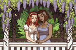 Commission - Heather and Michelle IV by emlan