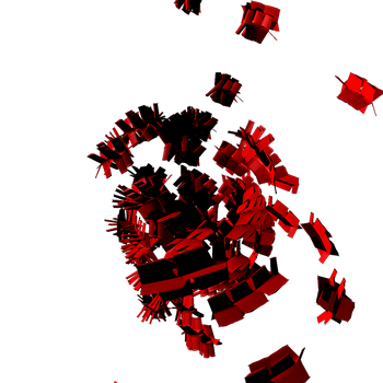 C4d Render red by pitbullthe2