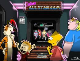 Cartoon All Star Jam by geogant