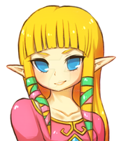 skyward sword -- zelda by onisuu