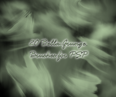 Bella Grunge Brushes for PSP by littiot