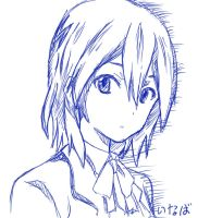 Inaba sketch by anotherchocobo