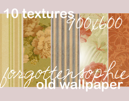Textures: 'Old Wallpaper' by Sophie-Lou