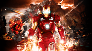 Iron Man Wallpaper by DeathB00K