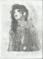 Andy Biersack BVB 32 finished by xxdaswarwohlnix