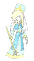 Rosalina Fire Emblem style by luicei375