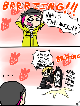 SDR2 SPOILERS - The strawberry house by ivythefox