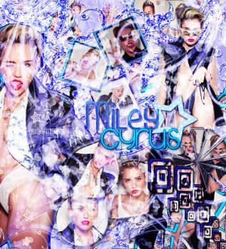 +SomeoneElse Miley Cyrus by dinaedittions