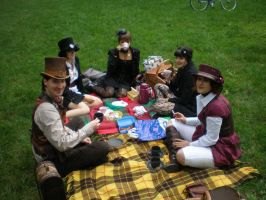 The Victorian Picnic by DerRauber