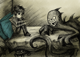 Bed Time by DreaminInsomniac