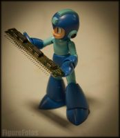 Megaman - Old Tech by PlasticSparkPhotos